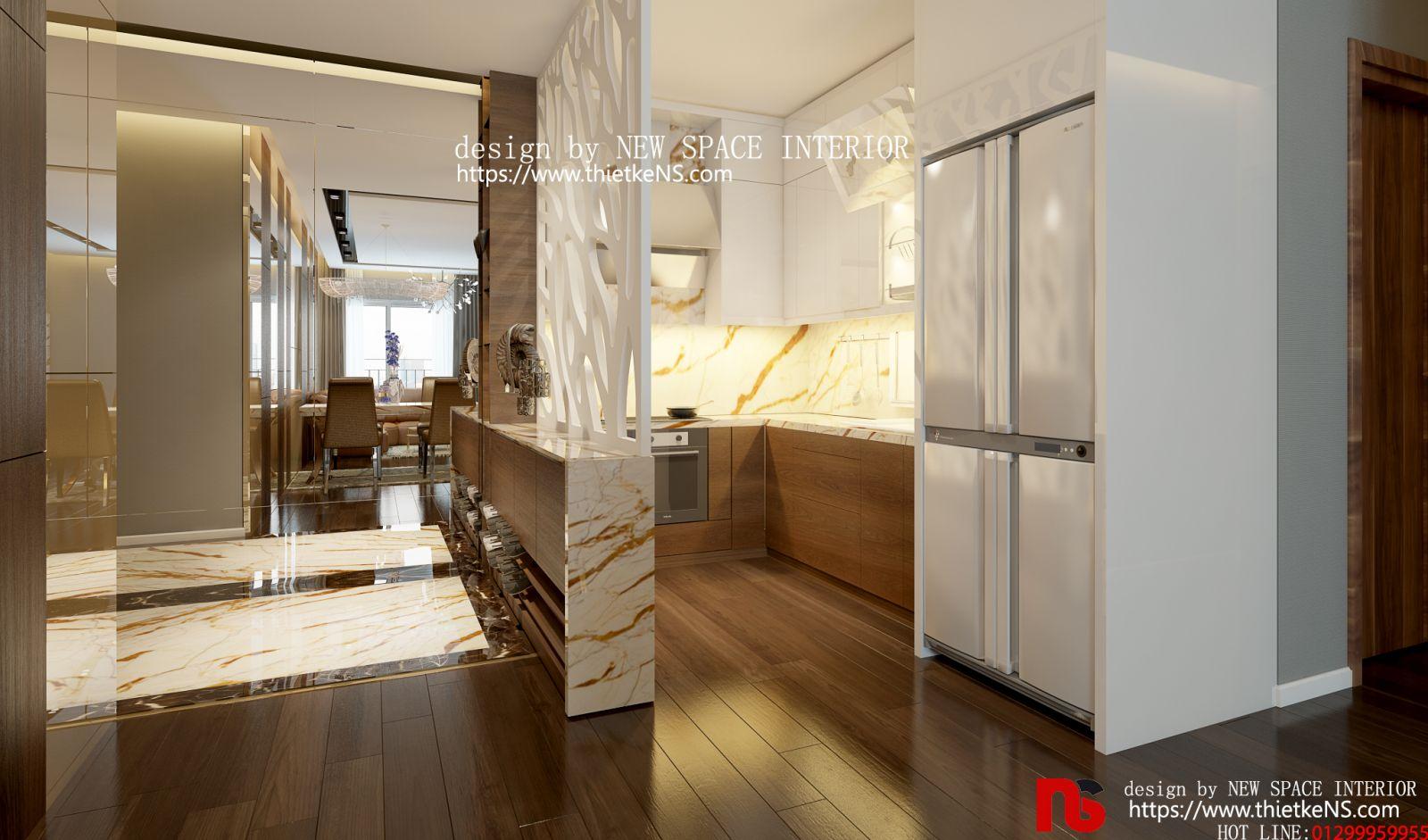 Thiết kế nội thất chung cư Skyview Plaza 02