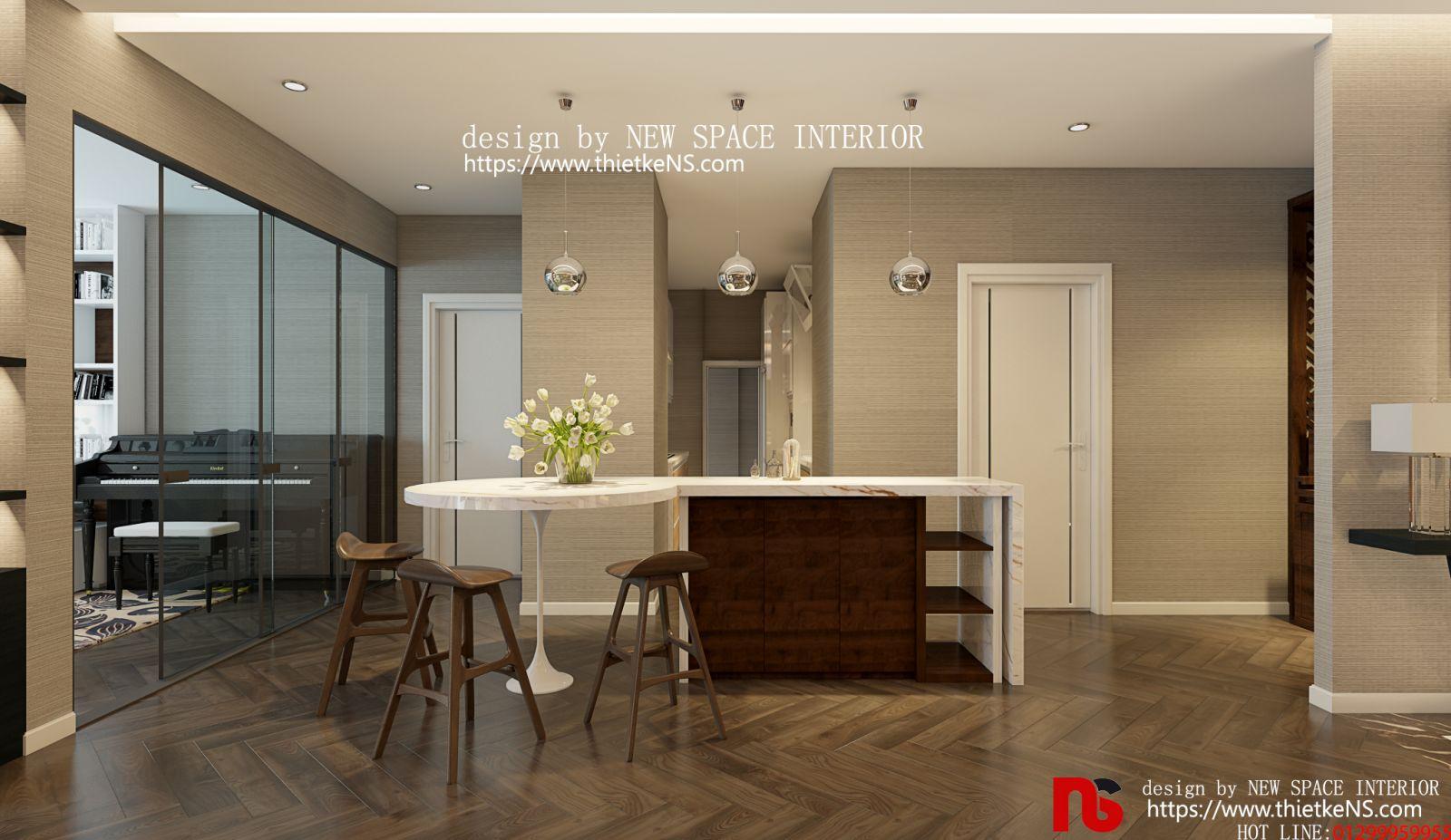 Thiết kế nội thất chung cư Skyview Plaza 03