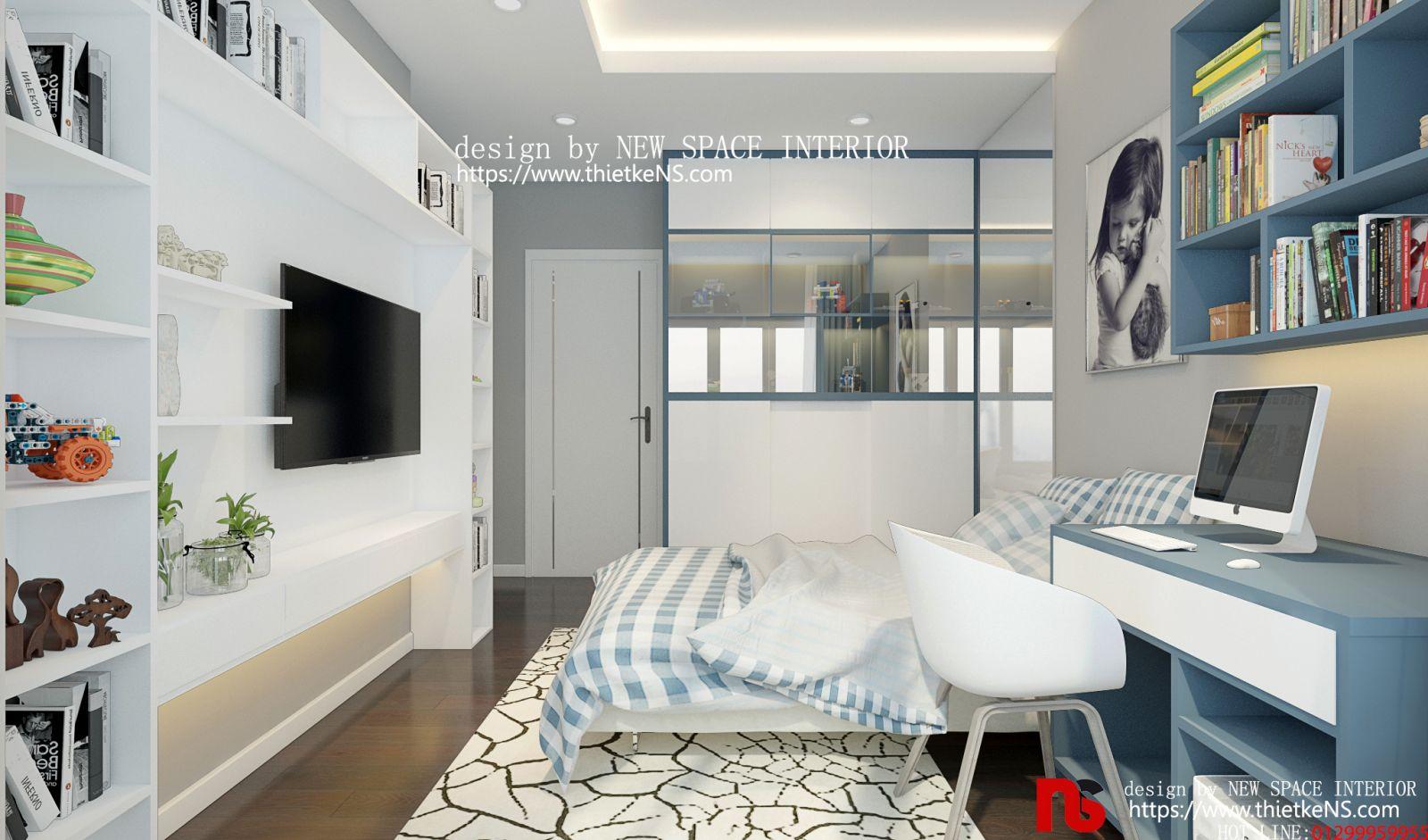 Thiết kế nội thất chung cư Stellar Garden 01