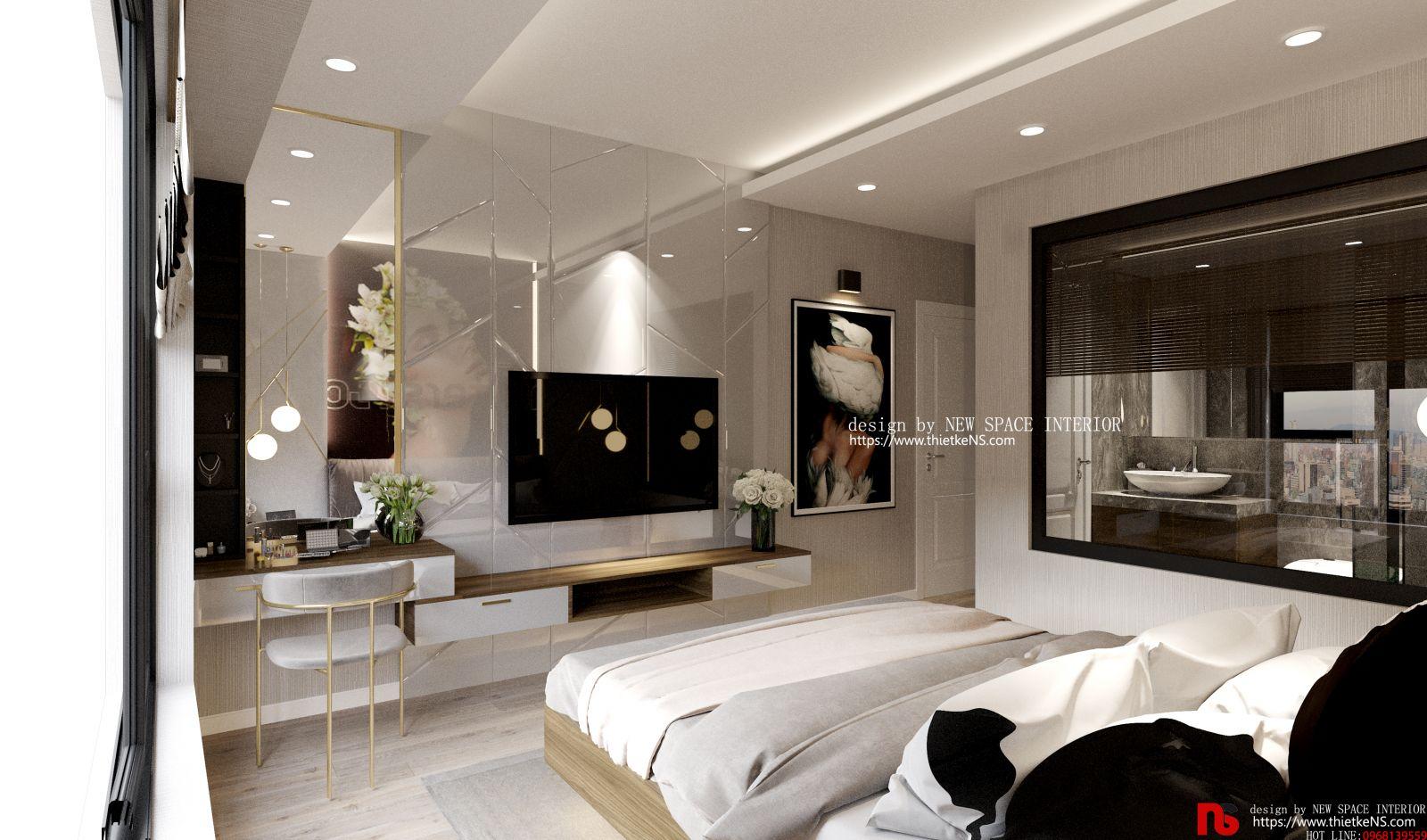 Thiết kế nội thất chung cư Vinhomes Skylake