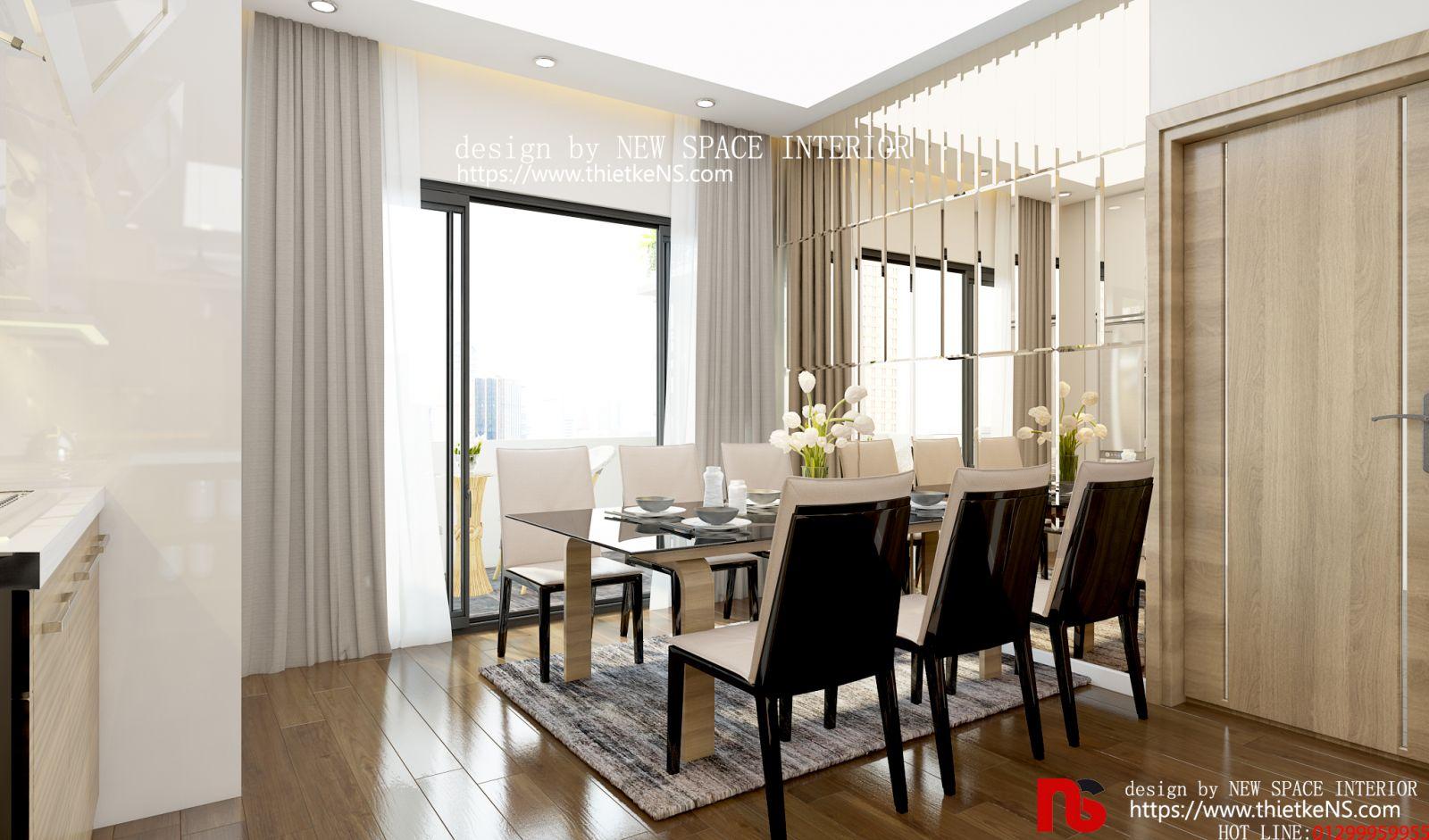 Thiết kế nội thất chung cư 6TH ELEMENT Tây Hồ 03 đẳng cấp, thời thượng