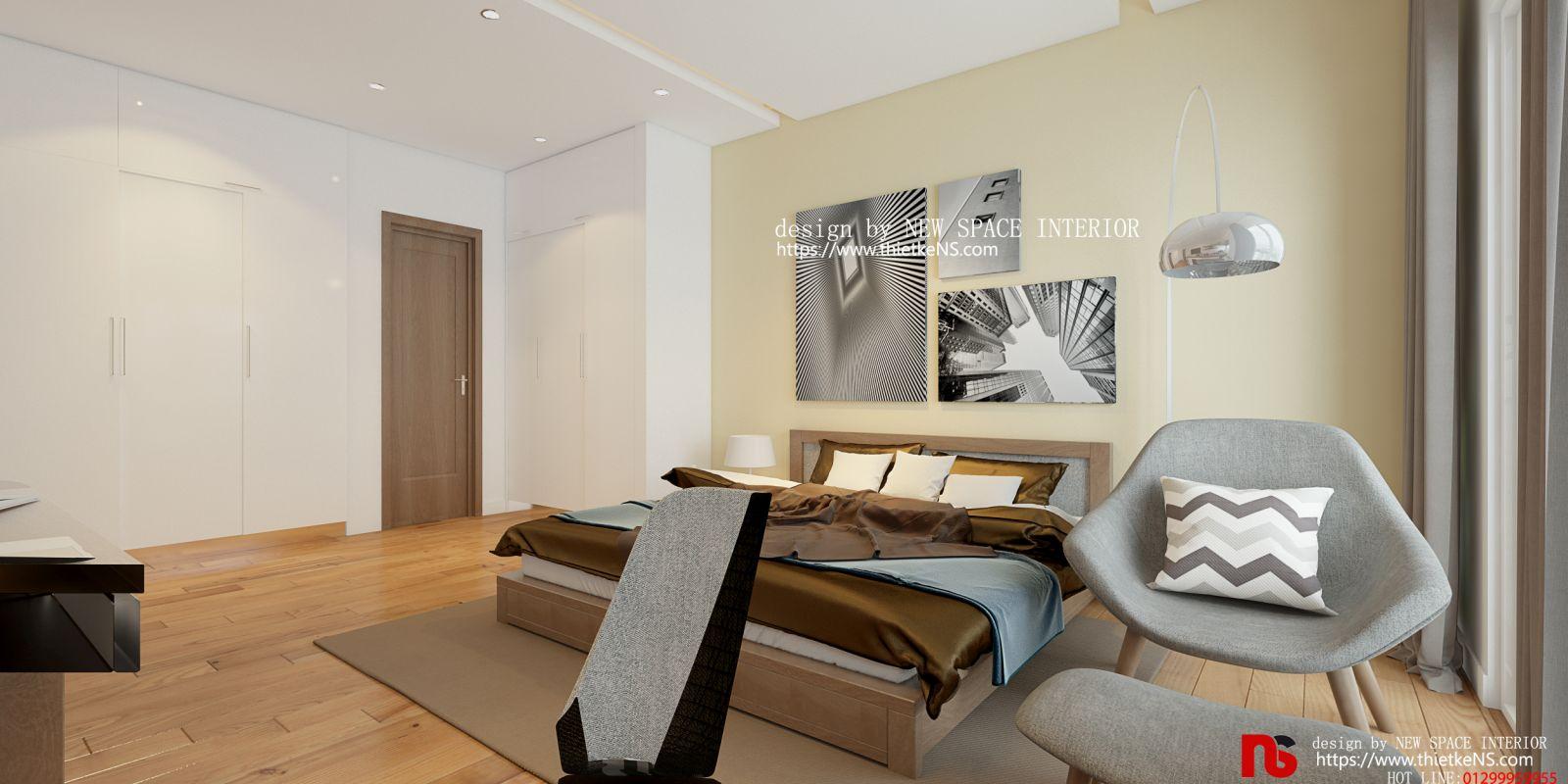 Thiết kế nội thất chung cư Amber Riverside 01