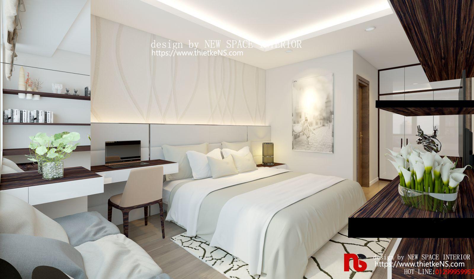Thiết kế nội thất chung cư Luxury Park Views 01