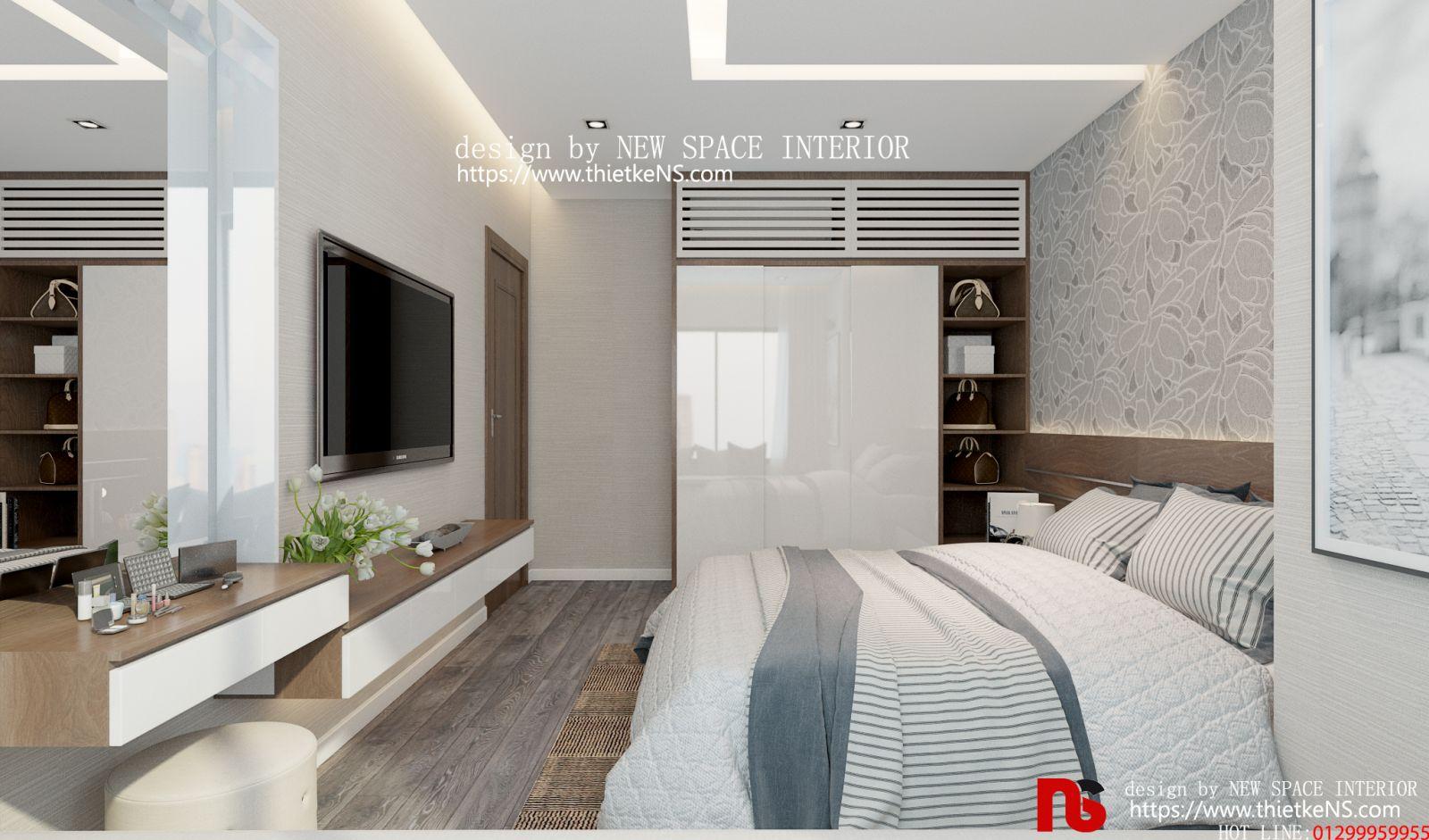 Thiết kế nội thất chung cư Skyview Plaza