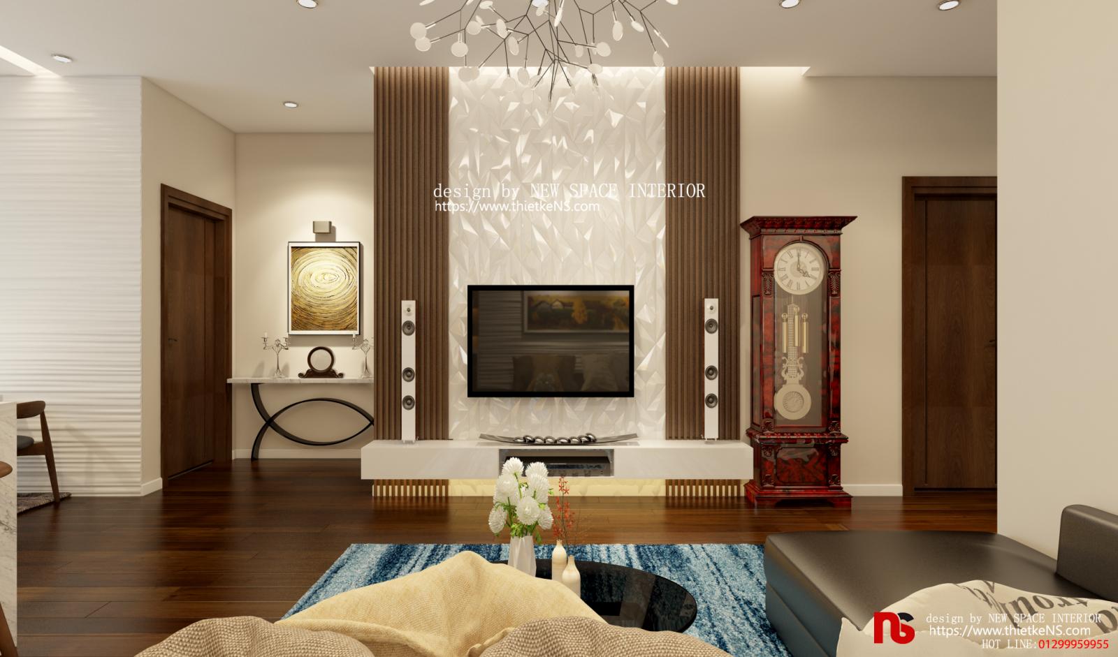 Thiết kế nội thất chung cư EMERALD CT8 Mỹ Đình 02