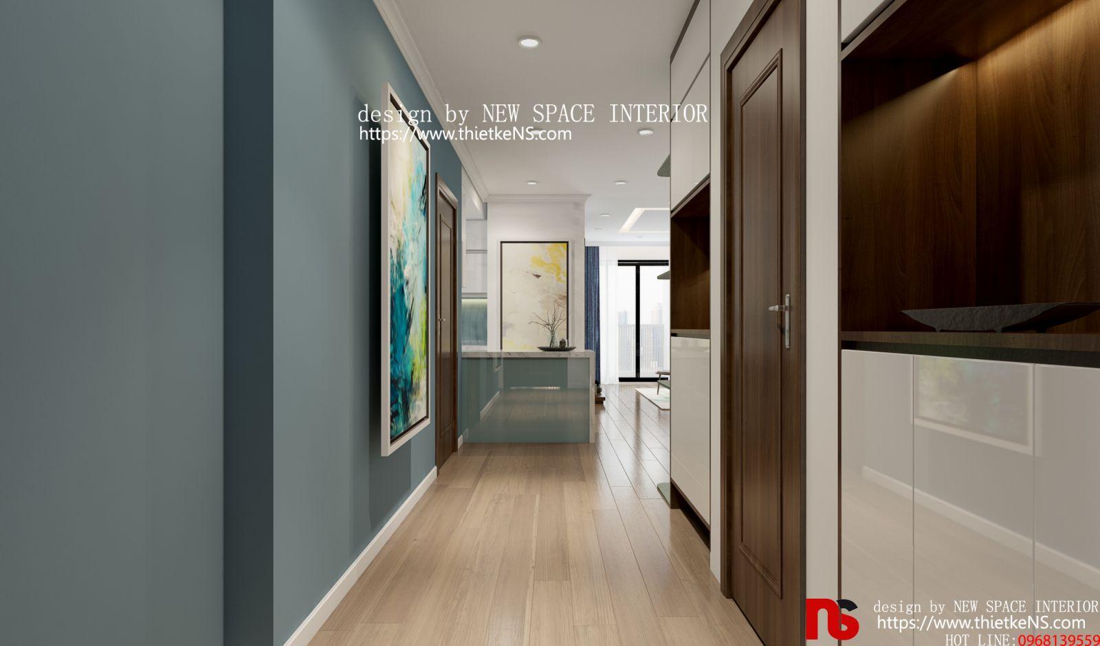 thiết kế nội thất chung cư khu vực bếp ăn