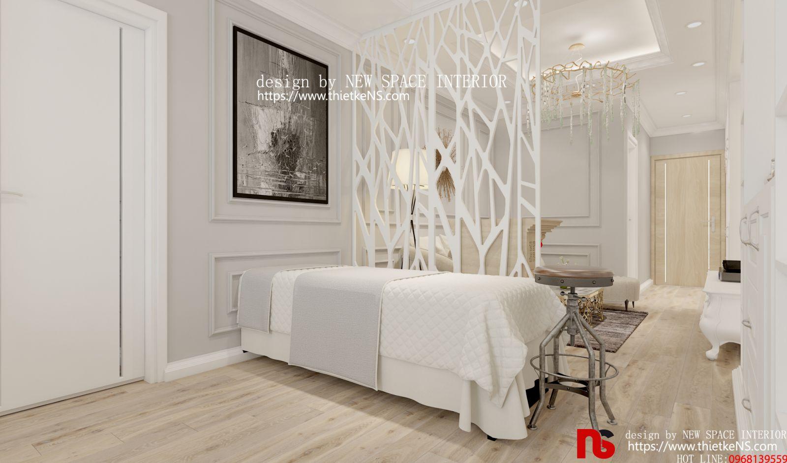 Thiết kế nội thất chung cư cho vụ Spa