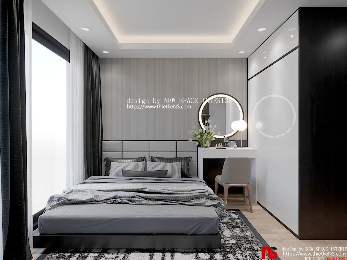 Thiết kế nội thất chung cư Rivera Park khu vực phòng ngủ