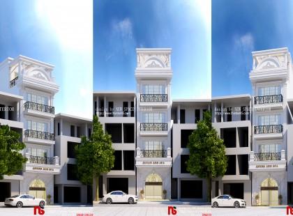 Thiết kế Nội Thất Nhà Phố Hiện Đại, Sang Trọng