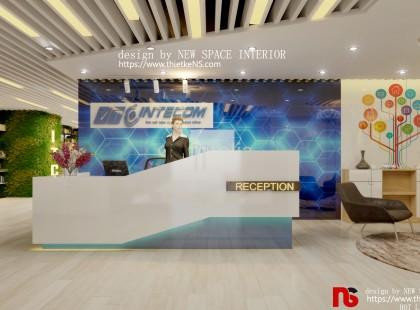Thiết kế Nội thất văn phòng VTC