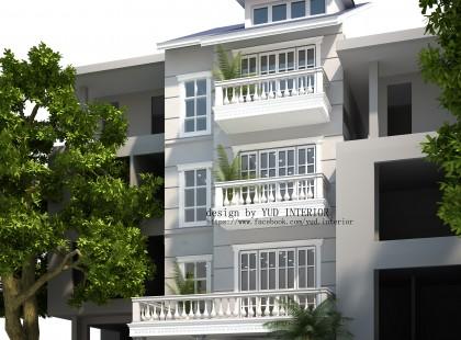 Thiết kế nội thất biệt thự Vincom Village 03 phong cách tân cổ điển sang trọng