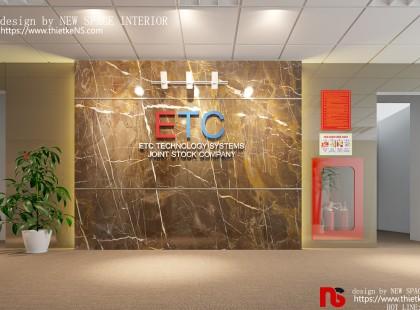 Thiết kế nội thất Văn phòng công ty ETC