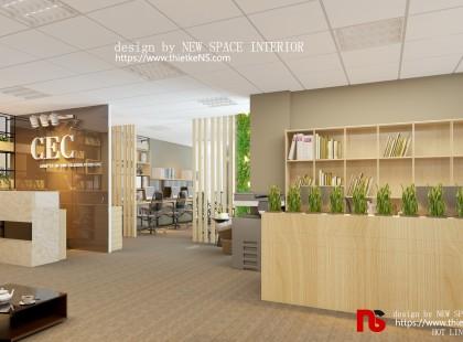 Thiết kế nội thất Văn phòng công ty CEC
