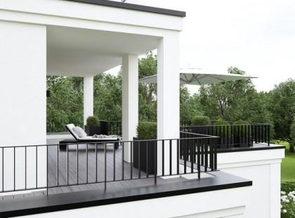 Không gian nghỉ dưỡng  xanh mát trong thiết kế nội thất biệt thự TK 06
