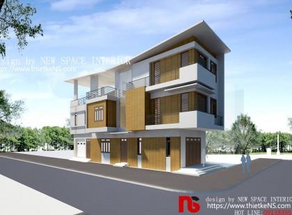 Thiết kế nội thất nhà phố Chùa Bộc sang đẹp