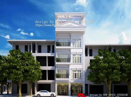 Thiết kế nội thất nhà phố 4 tầng hiện đại tại An Dương