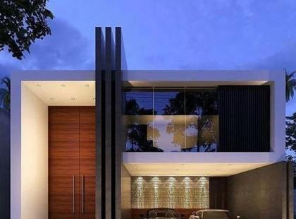 Thiết kế nội thất biệt thự nhà phố TK 09, dạng không gian kính sang trọng