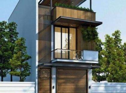 Thiết kế nội thất nhà phố TK 10 kiến trúc nhà gỗ sang trọng
