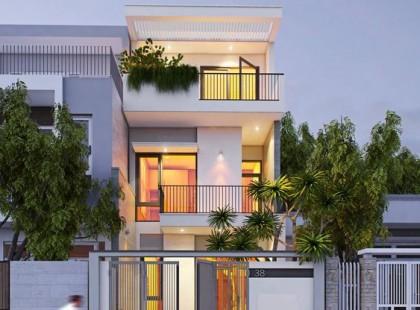 """""""Hút hồn"""" bởi phong cách thiết kế nội thất biệt thự nhà phố TK14 hiện đại"""