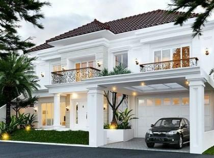 Thiết kế nội thất biệt thự Vincom Village 1105 theo phong cách tân cổ điển