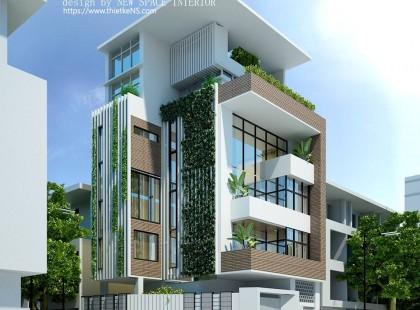 Thiết kế nội thất biệt thự Ngọc Khánh đẹp vạn người mê