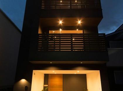 Không gian ấm áp trong thiết kế nội thấy nhà phố TK 48
