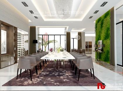 Thiết kế nội thất chung cư Golden Park đẹp mê hồn