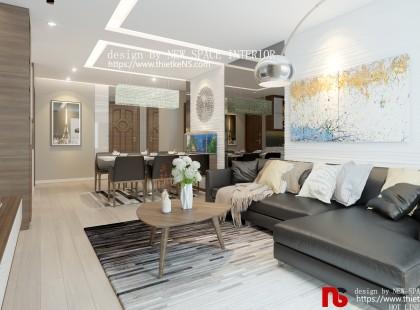 Thiết kế nội thất chung cư Golden Field