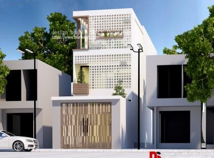 Thiết kế nội thất Nhà Phố Xuân Phương 01