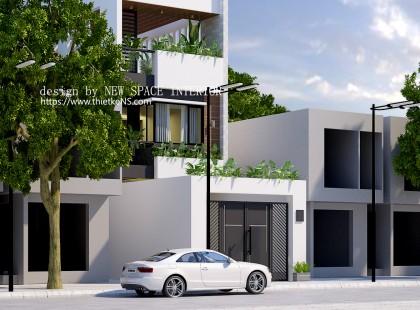 Thiết kế nội thất nhà phố đẹp hiện đại tại Lê Thanh Nghị