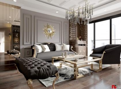 Thiết kế nội thất chung cư cao cấp Vinhomes Green Bay